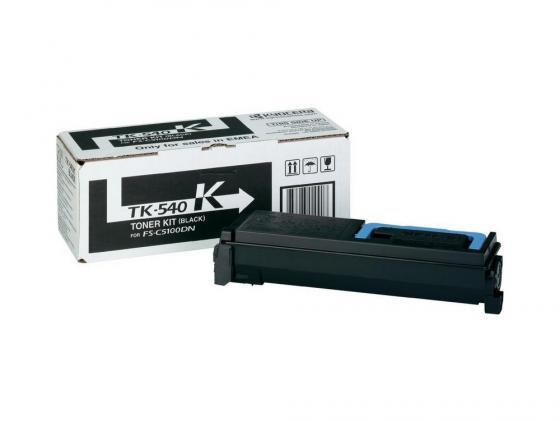 Картридж Kyocera TK-540K для FS C5100DN черный 5000стр new original kyocera 302hn94110 dc motor assy lsu for fs c5100dn c5200dn c5300dn