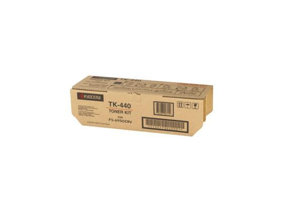Картридж Kyocera TK-440 для FS 6950 черный 15000стр картридж kyocera tk 820k для fs c8100dn черный 15000стр