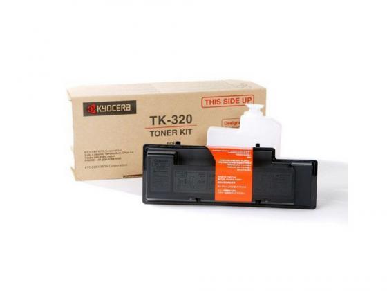 Картридж Kyocera TK-320 для FS 4000DN черный 15000стр kyocera mita fk 320
