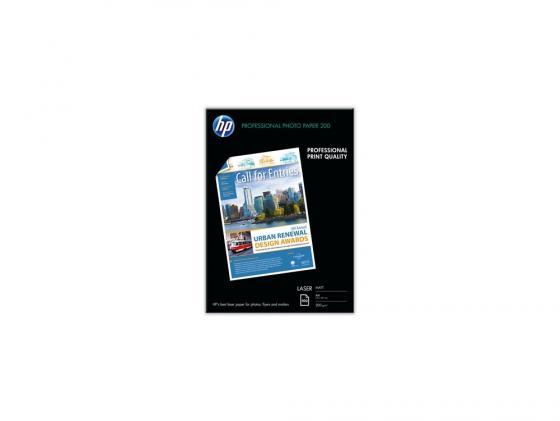 Фото - Фотобумага HP A4 200г/кв.м 100л матовая для лазерной печати Q6550A фотобумага
