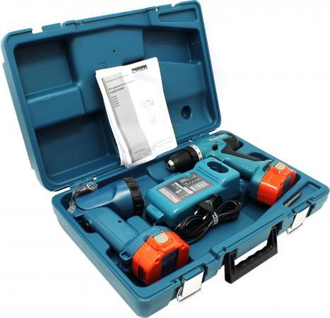 Аккумуляторная дрель-шуруповерт Makita 6281DWPLE + кейс + фонарь электроинструмент makita 6281dwple