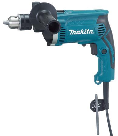 Дрель ударная Makita HP1630 750Вт ЗВП дрель ударная makita hp2033