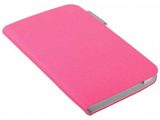 Чехол Logitech Folio для Samsung Galaxy Tab3 7'' Fantasy розовый 939-000758 цена и фото