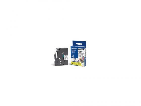 Лента ламинирования Brother TZ131 12мм для P-Touch черный на прозрачном лента ламинирования brother tz211 tze211 6мм для pt 1010 1280 1280vp 2700vp