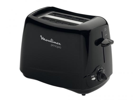 Тостер Moulinex TT110232 чёрный тостер 0 85квт moulinex lt260830