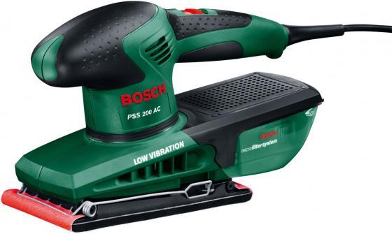 Виброшлифмашина Bosch PSS 200 AC виброшлифмашина bosch gss 23 a 0 601 070 400