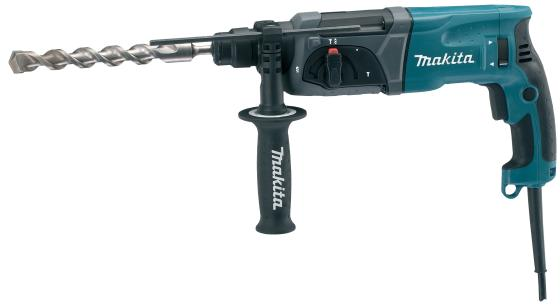 Перфоратор Makita HR2470 SDS-Plus 780Вт перфоратор sds plus makita hr2611ft x5