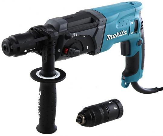 Перфоратор Makita HR2470FT SDS-Plus 780Вт БЗП перфоратор sds plus makita hr1841f