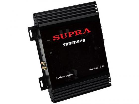 Усилитель звука Supra SBD-A2120 2-канальный усилитель supra sbd a4120 4 x