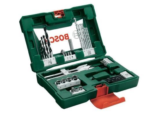Набор принадлежностей Bosch V-line 41шт 63060238/2607017316 цена и фото