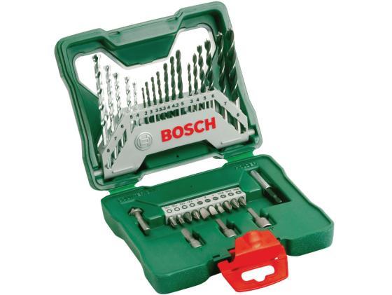 Набор бит и сверел Bosch X-Line-33 55200054 6035821JZ3 набор бит и сверел bosch x line 50 ti