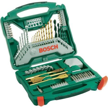 Набор бит и сверел Bosch X-Line-70 2607019329879 набор бит и сверел bosch x line 50 ti
