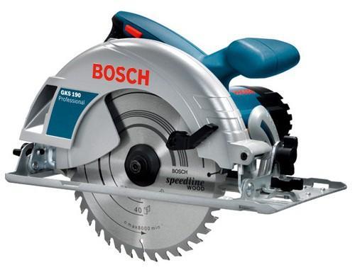 Циркулярная пила Bosch GKS 190 пила циркулярная bosch gks 600 professional 165х30мм 1200вт