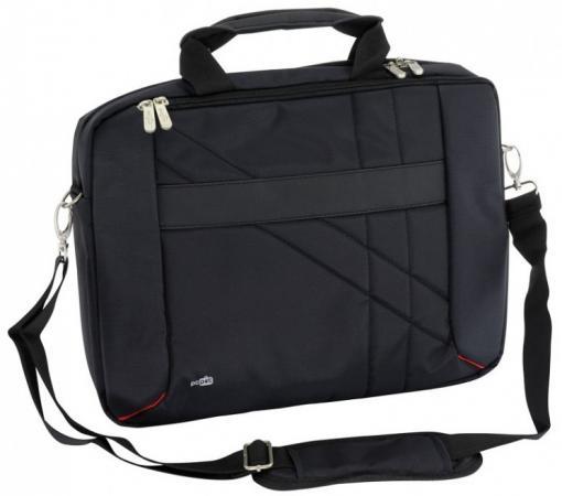 Сумка для ноутбука 15.6 PCPet PCP-W6715BK нейлон черный сумка для ноутбука 15 6 pc pet pcp sl9015n