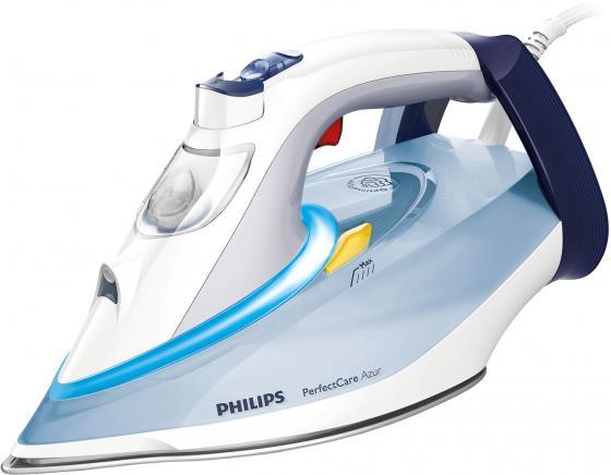 цена на Утюг Philips GC4910/10 2400Вт сине-белый
