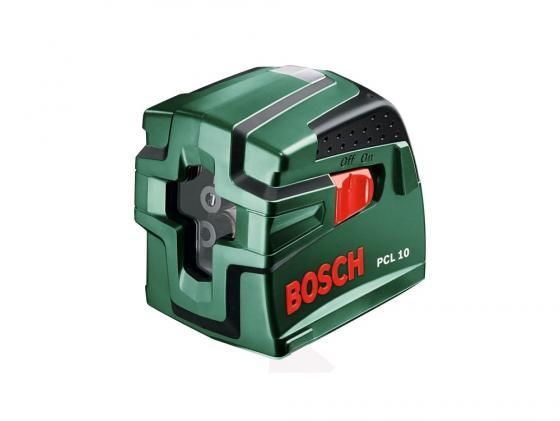 Лазерный нивелир Bosch PCL 10 уровень лазерный bosch pcl 10