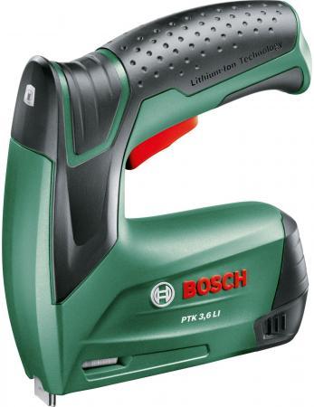 Степлер Bosch PTK 3.6 LI степлер электрический bosch ptk 14 edt 0 603 265 520