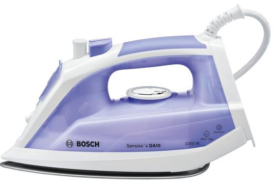 Утюг Bosch TDA1022000 2200Вт фиолетовый белый утюги bosch утюг bosch tda2377 2200вт фиолетовый