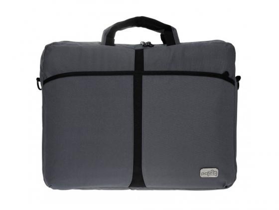 Сумка для ноутбука 17 PC Pet PCP-A1317GY нейлон серый сумка для ноутбука 15 6 pc pet pcp 1004bl нейлон тёмно синий