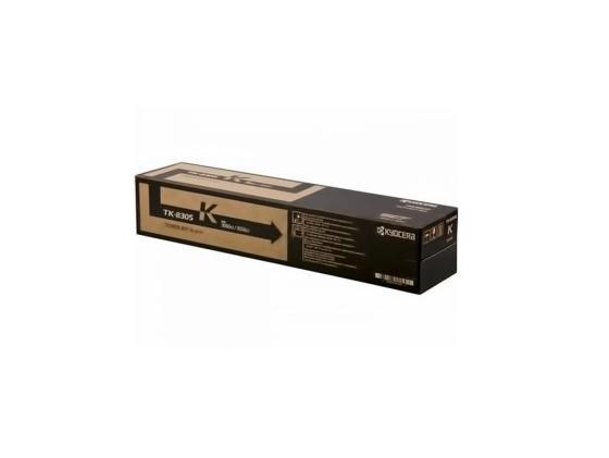 Картридж Kyocera TK-8305K для TASKalfa 3050ci/3550ci черный 25000стр 1T02LK0NL0 kyocera tk 8305k 25 000 стр black для taskalfa 3050ci 3550ci