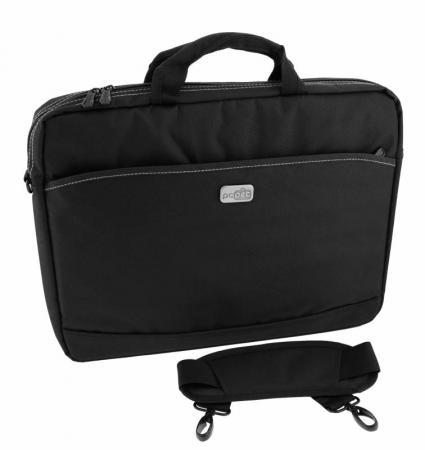 Сумка для ноутбука 17 PCPet PCP-A1317BK нейлон черный сумка для ноутбука pc pet 17 pcp a1317bk pcp a1317bk