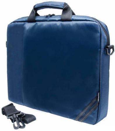 Сумка для ноутбука 15.6 PC Pet PCP-1004BL нейлон тёмно-синий аксессуар сумка 15 6 pc pet pcp 1004bl dark blue
