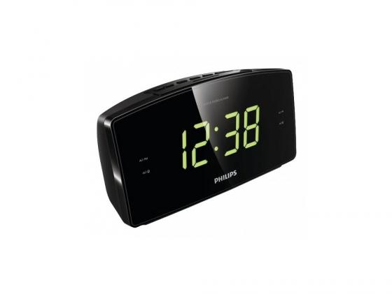 Радиобудильник Philips AJ3400/12 черный радиобудильник philips aj3123 12 чёрный белый