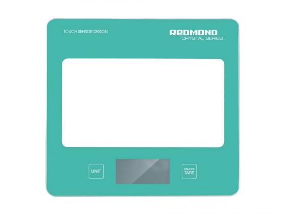 Весы кухонные Redmond RS-724 электронные голубой весы кухонные электронные redmond rs 724