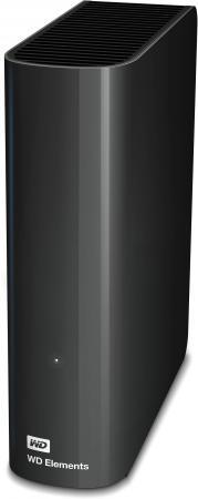 Внешний жесткий диск 3.5 USB3.0 3 Tb Western Digital Elements Desktop WDBWLG0030HBK-EESN