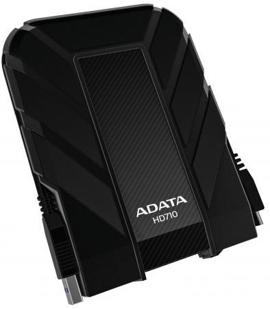 Внешний жесткий диск 2.5 USB3.0 1Tb A-Data AHD710-1TU3-CBK черный