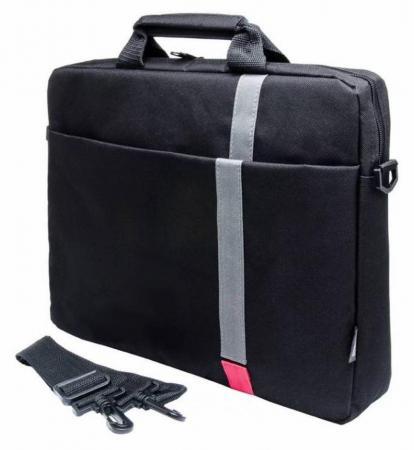 """Cумка для ноутбука 15.6"""" PC Pet PCP-1001RD полиэстер черный цена и фото"""