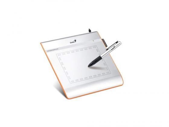 Графический планшет Genius EasyPen i405x белый планшет азбукварик планшет мультяшки повторяшки 4680019280158