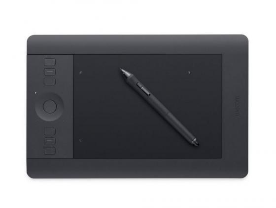все цены на Графический планшет Wacom Intuos Pro PTH-451-RUPL USB черный