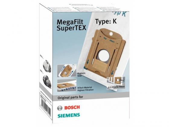 Пылесборник Bosch BBZ41FK одноразовый синтетика 4шт цена