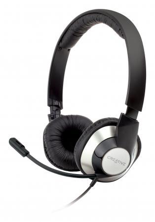 Гарнитура Creative HS-720 серебристо-черный 51EF0410AA002 creative hs 450