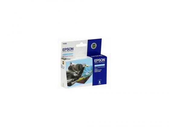 Картридж Epson C13T05954010 для Stylus Photo R2400 светло-голубой 440стр gzlspart for epson r1390 r 1390 original used formatter board printer parts on sale