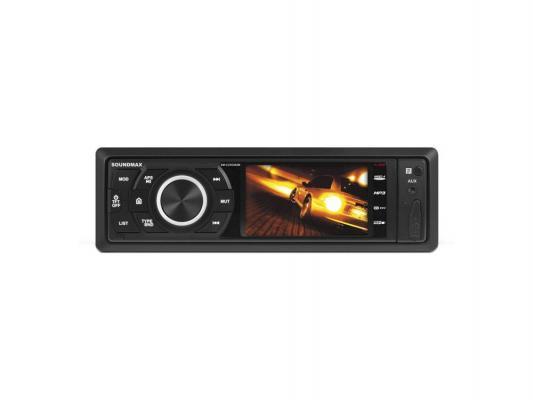 Автомагнитола Soundmax SM-CCR3082M USB MP3 FM RDS SD MMC 1DIN 4x45Вт черный