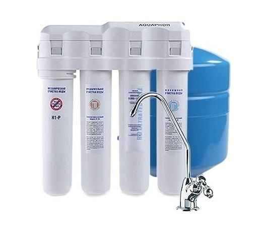 Фильтр для воды Аквафор OCMO-K-100-4-М исполнение 4 фильтр для воды аквафор модерн 4