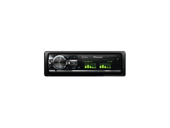 Автомагнитола Pioneer DEH-X9600BT USB MP3 CD FM RDS SD MMC SDHC 1DIN 4x50Вт пульт ДУ черный автомагнитола mystery mmd 587u usb cd mp3 dvd sd mmc 1din 4x50вт пульт ду черный