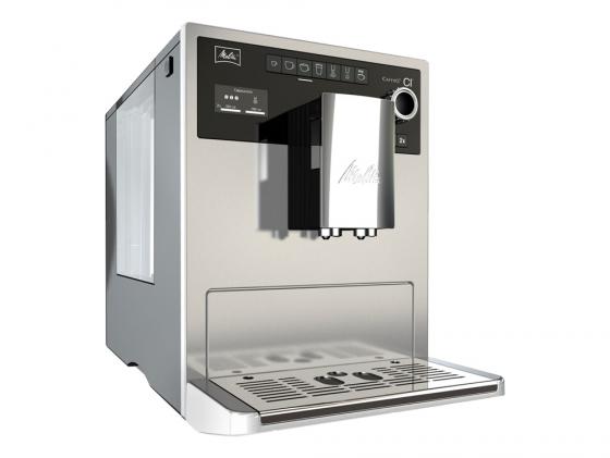 Кофемашина Melitta Caffeo CI Е 970-101 1500 Вт серебристый кофемашина melitta е 950 101 1400вт 1 2л черный серебристый