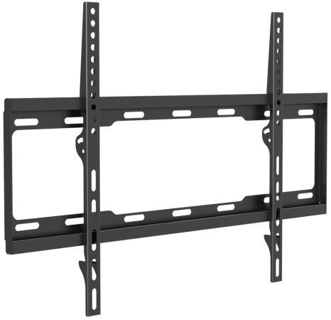 Кронштейн ARM Media STEEL-1 черный для LED/LCD ТВ 32-90 настенный 0 ст свободы от стены 25 мм VESA 600x400 до 60кг