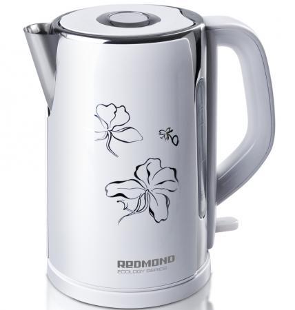 Чайник Redmond RK-M131 2400 Вт 1.7 л металл белый rk 131 кукла ираида 1105553