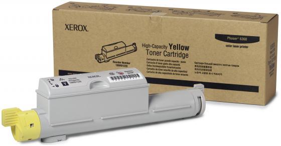 Тонер-Картридж Xerox 106R01220 для Phaser 6360 желтый 12000стр женские сапоги ecco 351123 14 11001 01220
