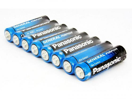 Батарейки Panasonic General Purpose AA 8 шт R6BER/8PR petlas ta60 13 6 36 8pr tt