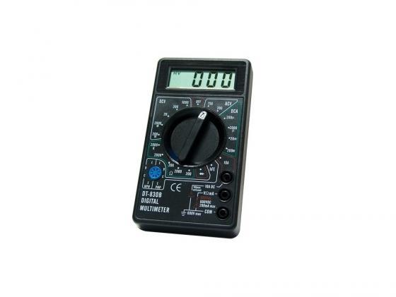 Мультиметр Ресанта M 830В (DT 830B) мультиметр ресанта dt 181