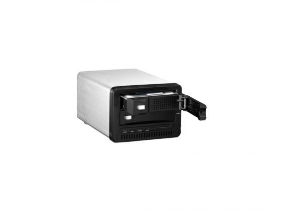 Внешний контейнер для HDD 3.5x2 SATA RAID AgeStar 3U2B3A1 USB3.0 черный внешний контейнер для hdd 2 5 sata agestar sub2o1 usb2 0 красный