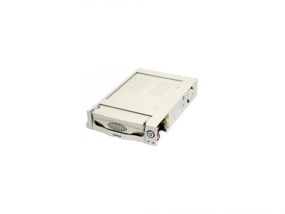 Салазки для жесткого диска (mobile rack) для HDD 3.5 AGESTAR MR3-SATA(S)-1F 1fan бежевый SR3P-S-1F 95 850 157 018 rf cable assemblies hd bnc sr pl 1 0 2 3 sr p mr li