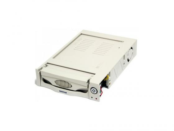 Салазки для жесткого диска (mobile rack) для HDD 3.5 AGESTAR MR3-SATA (K)-F бежевый SR3P-K-1F 95 850 157 018 rf cable assemblies hd bnc sr pl 1 0 2 3 sr p mr li