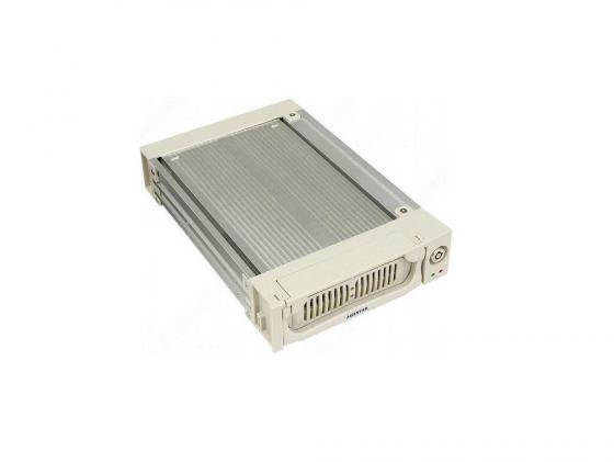 Салазки для жесткого диска (mobile rack) для HDD 3.5 AGESTAR SR1A-K-1F 1fan серебристый mobile rack agestar sr3p sw 3f sata black