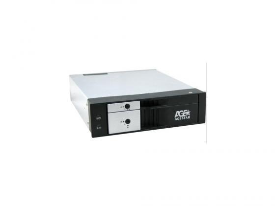 """купить Салазки для жесткого диска (mobile rack) для HDD 3.5"""" AGESTAR SMRP2 SATA черный онлайн"""